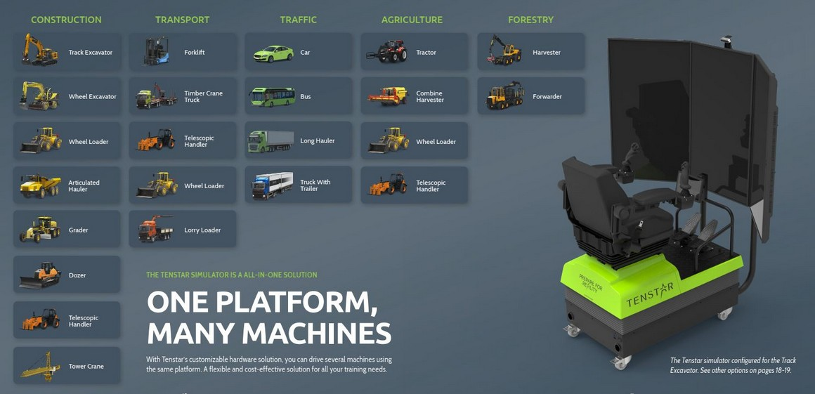 One platform, many machines